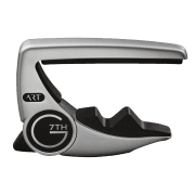 G7th Performance 3 ART Adaptative Radius Guitar Capo - Silver