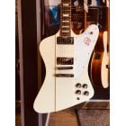 Gibson Firebird V 2012 Electric Guitar in Classic White - Pre-Owned - Rare & Mint Condition