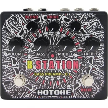 Hotone B-Station Bass Guitar D.I. Box and Preamp