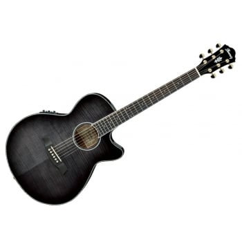 Ibanez AEG24II-TGB Electro-Acoustic Guitar (Transparent Grey Burst)