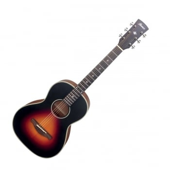 Ibanez AN60-BSM Artwood Parlor Acoustic Guitar - Brown Sunburst Matte