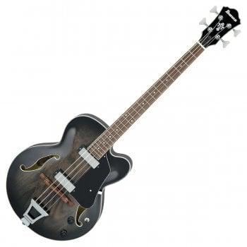 Ibanez Artcore AFB200-TKS Electric Bass Guitar - Transparent Black Sunburst