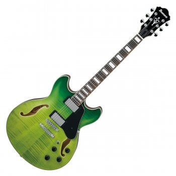 Ibanez AS73FM-GVG Artcore Flamed Maple Semi-Hollow Guitar - Green Valley Gradation