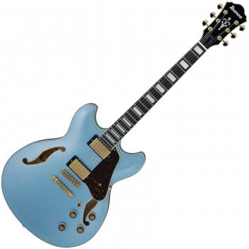 Ibanez AS83-STE Artcore Expressionist, Semi Hollow, HH, Steel Blue