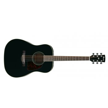 Ibanez AW70-BK Artwood Acoustic Dreadnought Guitar (Black)