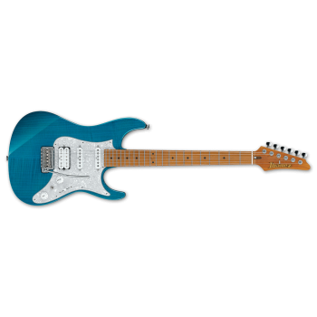 Ibanez AZ2204F-TAB Prestige Electric Guitar Transparent Blue (Pre Order Now!)