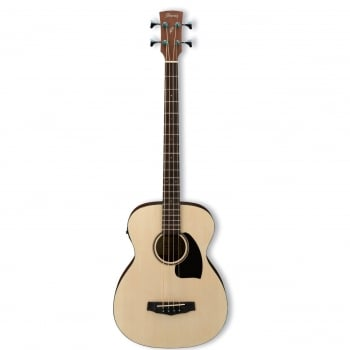 Ibanez PCBE12-OPN (Open Pore Natural) Electro-Acoustic Bass Guitar