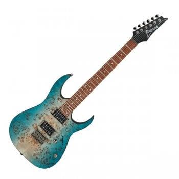 Ibanez RG421PB-CHF Electric Guitar - Caribbean Shoreline Flat