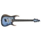 Ibanez RGDIM6FM-CLF Iron Label Electric Guitar (Cerulean Blue Burst Flat)