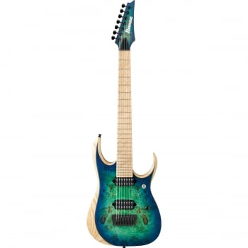 Ibanez RGDIX7MPB-SBB Iron Label 7 String Electric Guitar (Surreal Blue Burst)