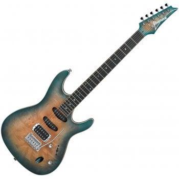 Ibanez SA460MBW-SUB Electric Guitar, Midnight Tropical Rainforest