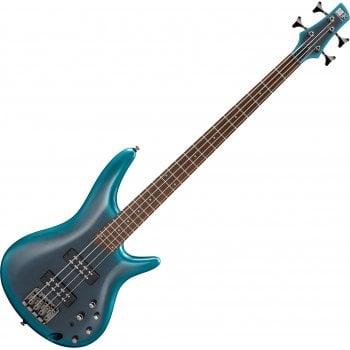 Ibanez SR300E-CUB Active Bass Guitar, Cerulean Aura Burst