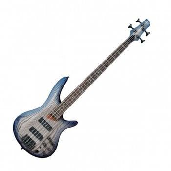 Ibanez SR600E-CTF Electric Bass Guitar - Cosmic Blue Starburst Flat