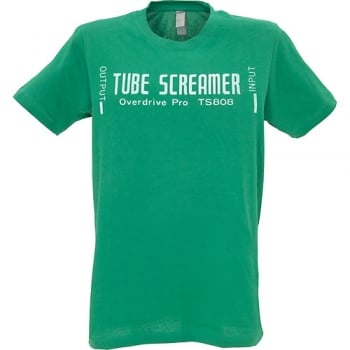 Ibanez Tube Screamer Mens Green T-Shirt