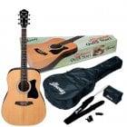 """Ibanez V50NJP Acoustic Steel String Guitar """"Jampack"""" Starter Pack"""