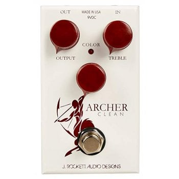 J Rockett Audio Designs Archer Clean Boost / Overdrive Guitar Pedal