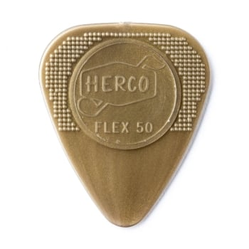 Dunlop Jim Dunlop Herco Nylon Flat Picks: Flex 50 12-Pack