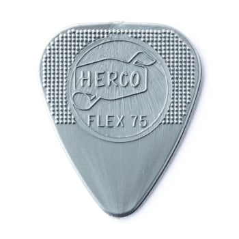 Dunlop Jim Dunlop Herco Nylon Flat Picks: Flex 75 12-Pack