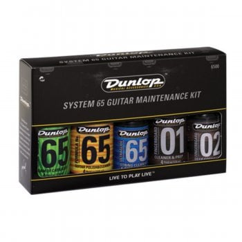 Dunlop Jim Dunlop System 65 Guitar Maintenance Kit - 5 Pack
