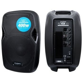 Kam RZ10A Portable Active PA Speaker - 300W