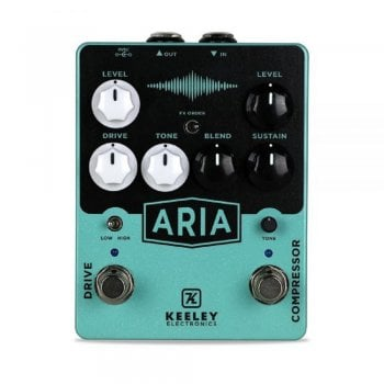 Keeley Aria Compressor / Overdrive pedal