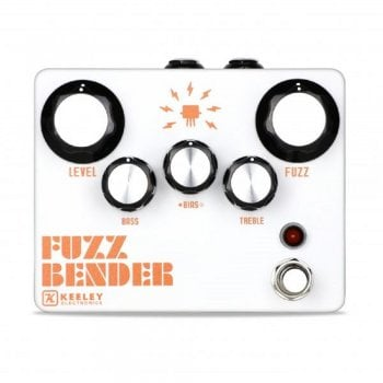Keeley Fuzz Bender - Ginormous Fuzz pedal with active EQ and Gate controls