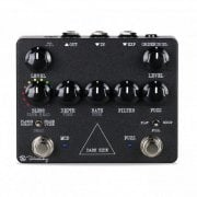 Keeley KE-DARKS Dark Side -Modern Fuzz pedal with Rotary, Vibrato & Delay