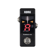 Korg Pitchblack Mini Chromatic Guitar Tuner Pedal
