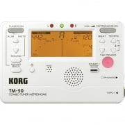 Korg TM-50 Tuner and Metronome (White)