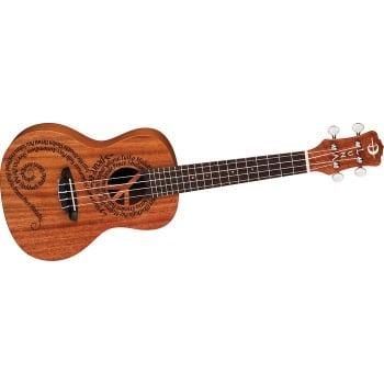 Luna Maluhia Peace Concert Acoustic Ukulele