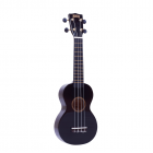 Mahalo Soprano Ukulele MR1-BK (Black) with FREE Gig Bag
