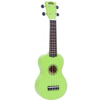 Mahalo Soprano Ukulele MR1-GN (Green) with FREE Gig Bag