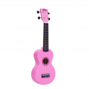 Mahalo Soprano Ukulele MR1-PK (Pink) with FREE Gig Bag