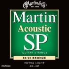 Martin Acoustic Bronze Strings Extra Light MSP3000
