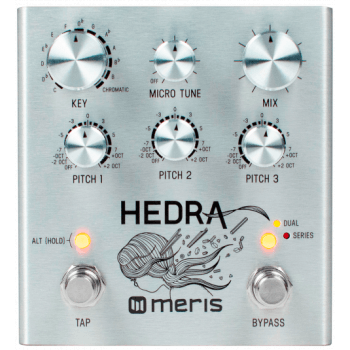 Meris Hedra 3-Voice Rhythmic Pitch Shifter Guitar Pedal
