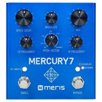 Meris Mercury7 Reverb Pedal