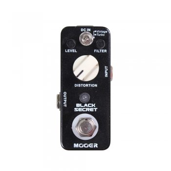 Mooer Audio Black Secret Distortion Pedal