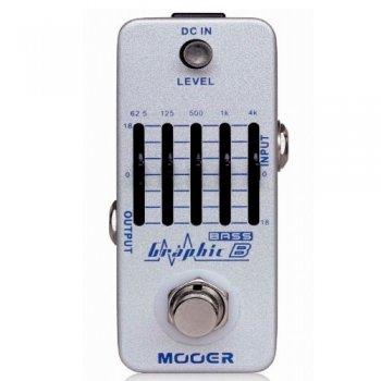 Mooer Audio Graphic B 5 Band Bass Equalizer Pedal