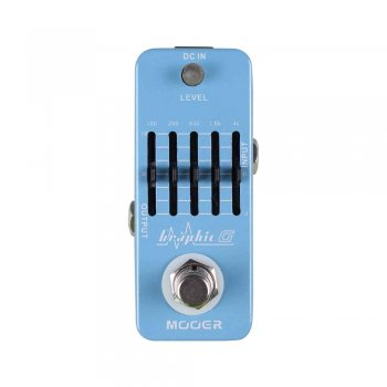 Mooer Audio Graphic G 5 Band Guitar Equalizer Pedal