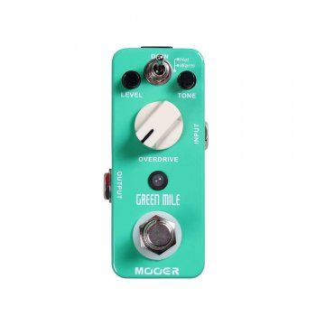 Mooer Audio Green Mile Overdrive Pedal