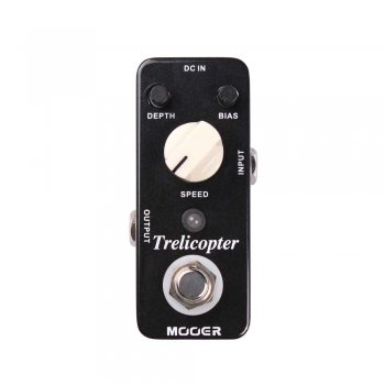 Mooer Audio Trelicopter Optical Tremolo Pedal