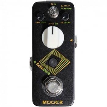 Mooer EchoVerb Digital Delay and Reverb Guitar Effect