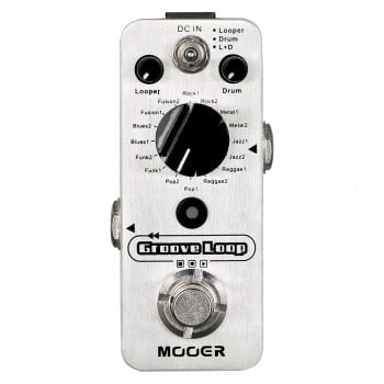Mooer Groove Loop Drum Machine & Looper Pedal