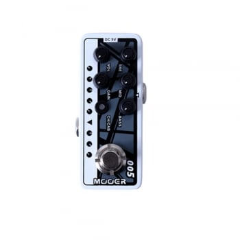 Mooer Micro Preamp 005 Fifty-Fifty 3 Pedal