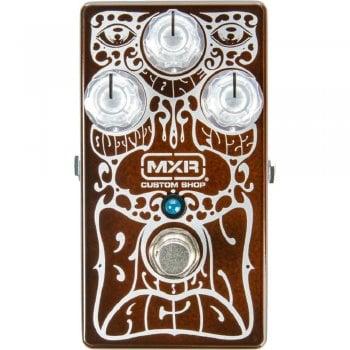MXR CSP038 Custom Shop - Brown Acid Fuzz Pedal - Limited Edition