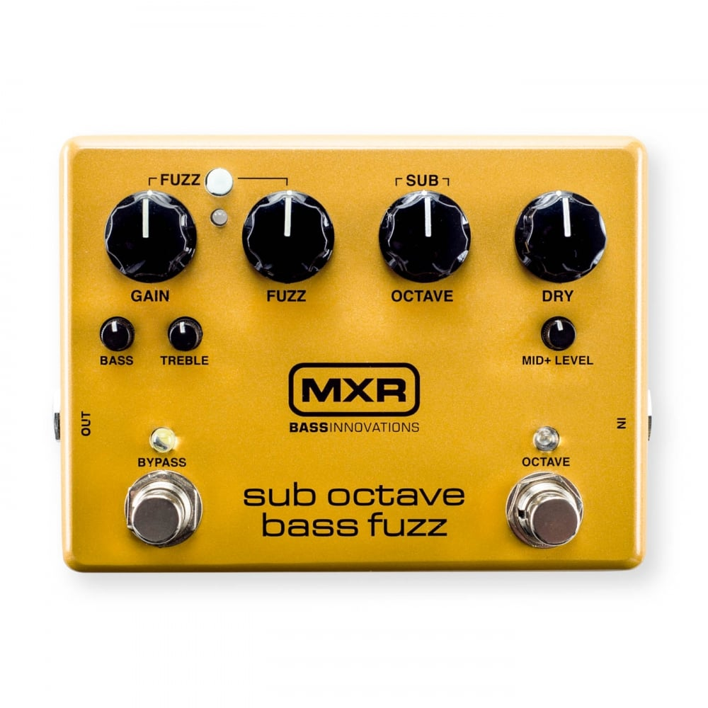 mxr m287 sub octave bass fuzz pedal for bass guitar. Black Bedroom Furniture Sets. Home Design Ideas