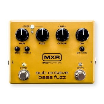 MXR M287 Sub Octave Bass Fuzz Pedal for Bass Guitar