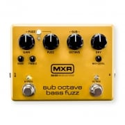 MXR M287 Sub Octave Bass Fuzz Pedal for Bass Guitar