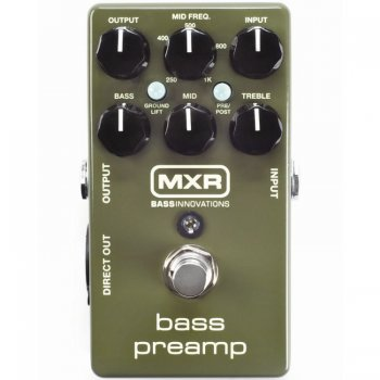 MXR M81 Bass Preamp - B-Stock - Mint Condition