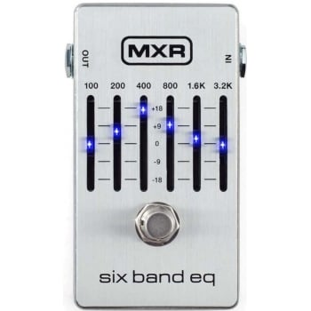 MXR Six Band Graphic EQ M109S